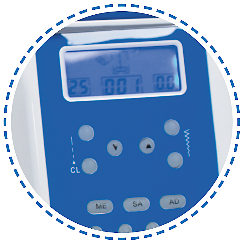 Displej a ovládání|Šicí stroj Garudan INSPIRO GHE-1200