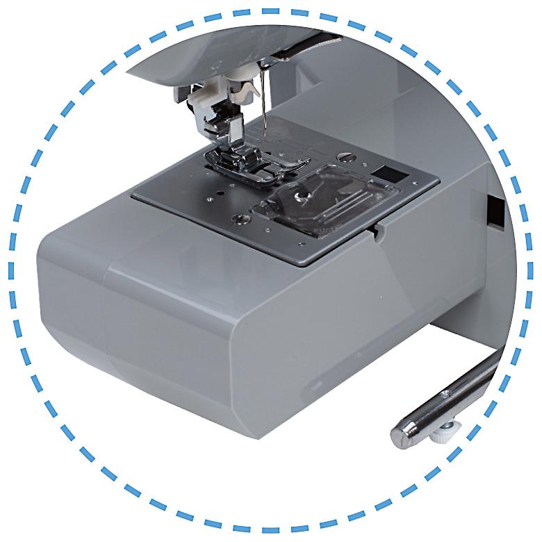 Úzké volné rameno|Šicí stroj Garudan SMART GHE-1099