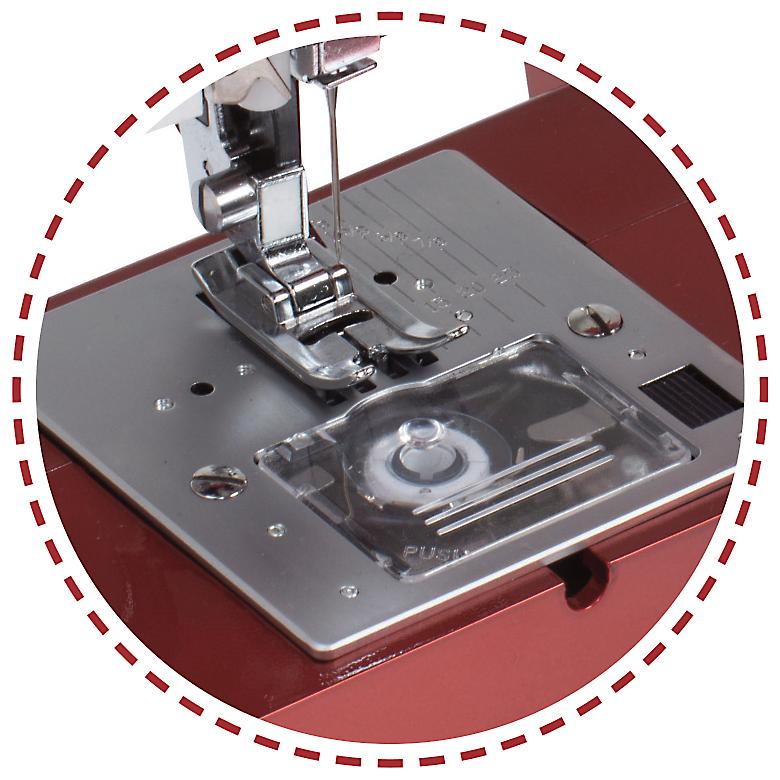 Tichý rotačný chápač, ponor podávánia na quiltovanie|Šijací stroj Garudan VISIO GHE-1207