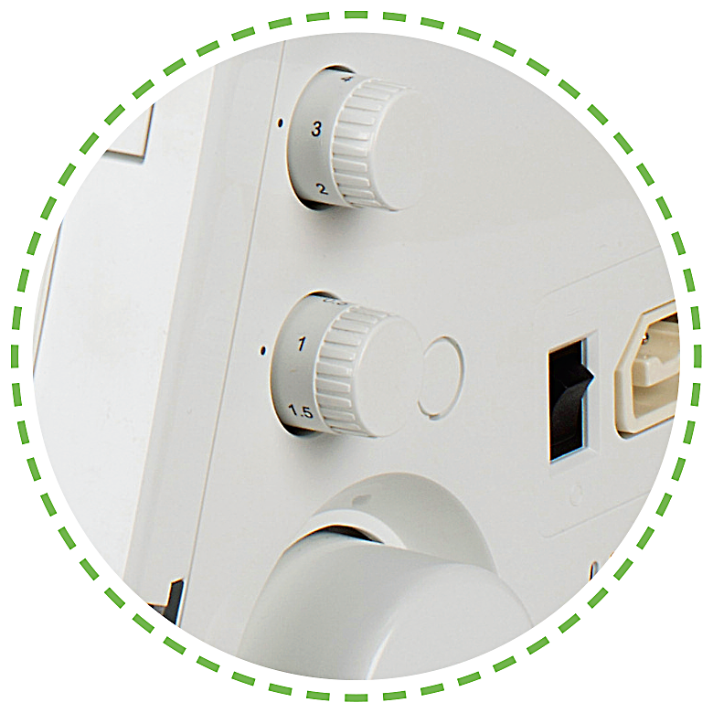 Diferenciální nastavení, snadné ovládání|Coverlock VS 400D